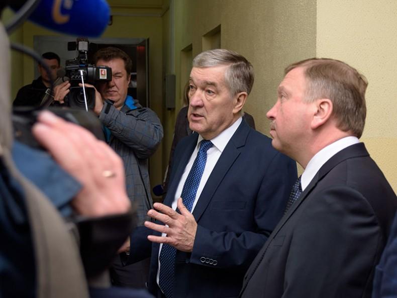 Рабочая поездка Премьер-министра Беларуси Андрея Кобякова в Волковысский район