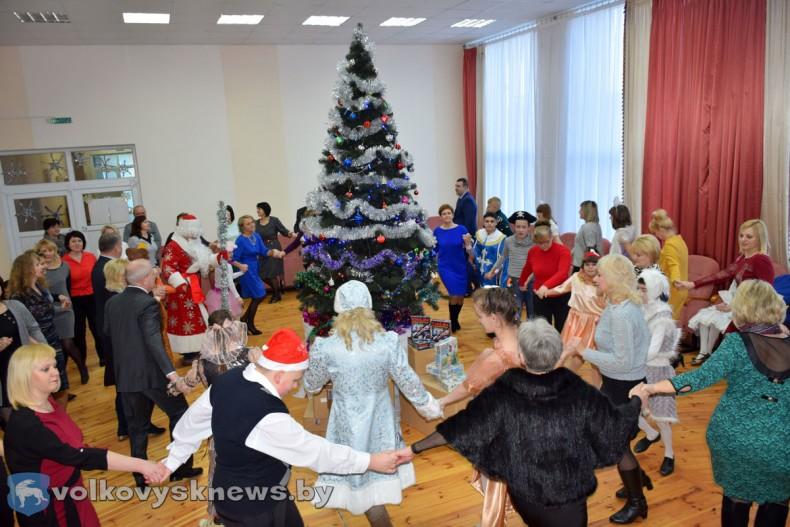 Благотворительная акция Наши дети в Волковысском районе