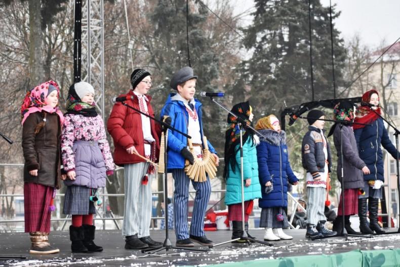 Масленица 2018 в Волковыске